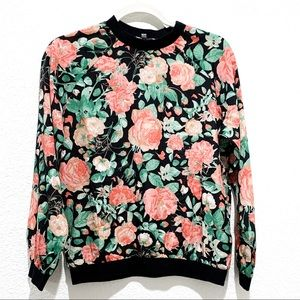 Lovers + Friends Floral Pullover